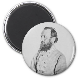 Confederate General Thomas J Stonewall Jackson 2 Inch Round Magnet