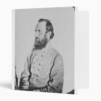 Confederate General Thomas J Stonewall Jackson Binder