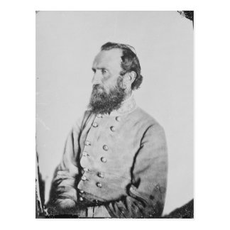 Confederate General Thomas J Stonewall Jackson Postcard