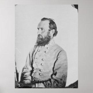 Confederate General Thomas J Stonewall Jackson Print