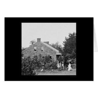 Confederate Headquarters in Gettysburg, PA 1863 Card