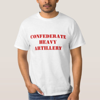 Confederate Heavy Artillery T-shirt