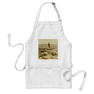 Confederate Look Out at Lookout Mountain Georgia Adult Apron