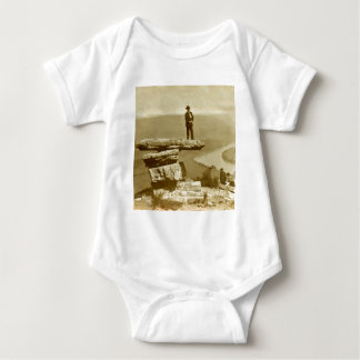 Confederate Look Out at Lookout Mountain Georgia Baby Bodysuit