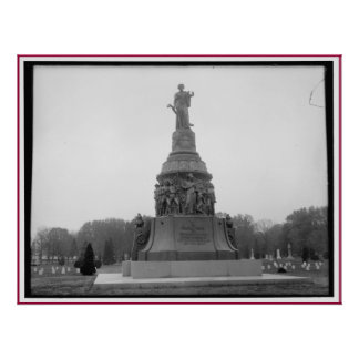 Confederate Memorial, Arlington Cemetery Monument Poster