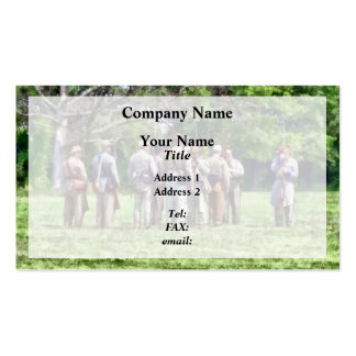 Confederate Muster Business Card