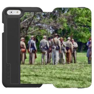 Confederate Muster iPhone 6/6s Wallet Case