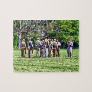 confederate muster jigsaw puzzle - Puzzle Muster