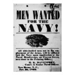Confederate Naval Recruiting Poster
