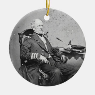 Confederate Navy Admiral Franklin Buchanan Ornaments