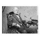 Confederate Navy Admiral Franklin Buchanan Postcard