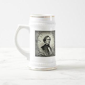 Confederate President Jefferson Davis Beer Stein