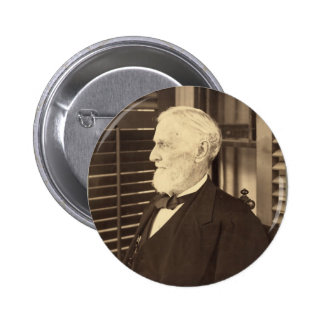 Confederate President Jefferson Davis by E. Wilson 2 Inch Round Button