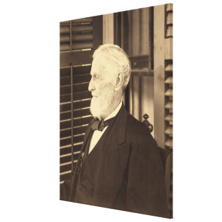 Confederate President Jefferson Davis by E. Wilson Canvas Print