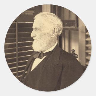 Confederate President Jefferson Davis by E. Wilson Classic Round Sticker