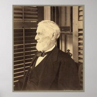 Confederate President Jefferson Davis by E. Wilson Poster