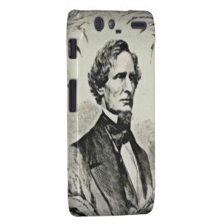 Confederate President Jefferson Davis Motorola Droid RAZR Case
