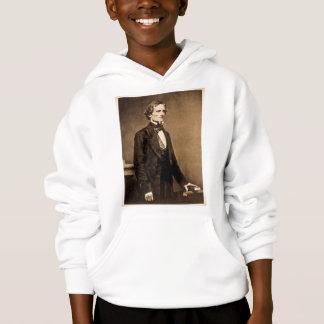 Confederate President Jefferson Davis Hoodie