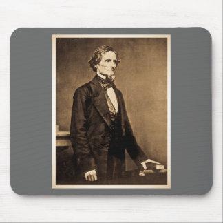Confederate President Jefferson Davis Mouse Pad