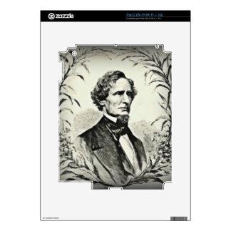 Confederate President Jefferson Davis iPad 2 Decals