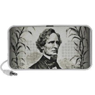 Confederate President Jefferson Davis Laptop Speakers