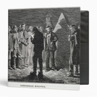 Confederate Roll-call 3 Ring Binder