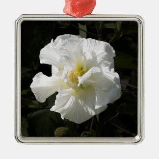 Confederate Rose Metal Ornament