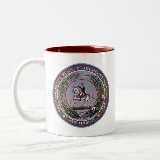 Confederate Seal 3 Mugs