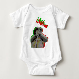 Confederate Soldier in Franklin, Tennessee Baby Bodysuit