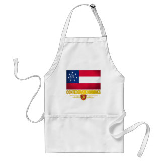 Confederate States Marines Flag Adult Apron