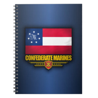 Confederate States Marines Flag Spiral Notebook