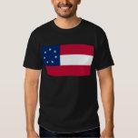 Confederate States of America Flag Tee Shirt