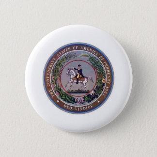 Confederate States of America Seal Button
