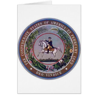 Confederate States of America Seal Card