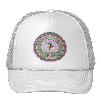 Confederate States of America Seal Mesh Hat