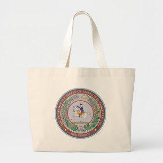 Confederate States of America Seal Large Tote Bag