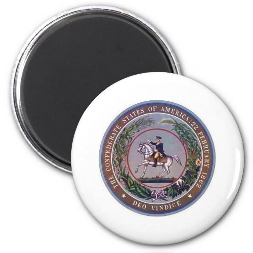 Confederate States of America Seal Refrigerator Magnet