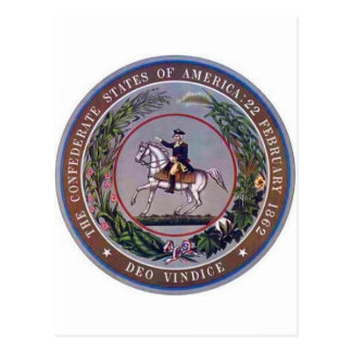 Confederate States of America Seal Postcard