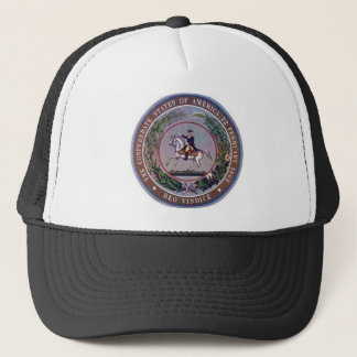 Confederate States of America Seal Trucker Hat
