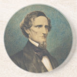 Confederate States President Jefferson Davis Coasters