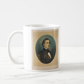 Confederate States President Jefferson Davis Coffee Mug
