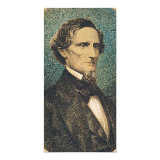 Confederate States President Jefferson Davis Photo Greeting Card