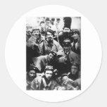 Confederate Volunteers, 1861 Round Sticker
