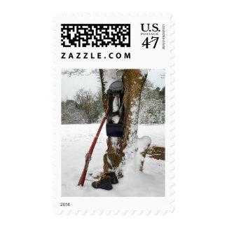 Confederate Winter Postage