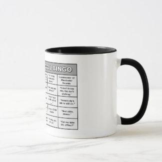 Conference Call Bingo Mug
