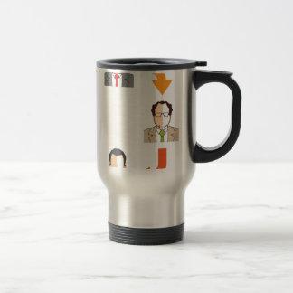 Conference circle travel mug