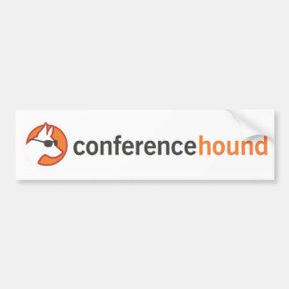 Conference Hound Swag Bumper Sticker