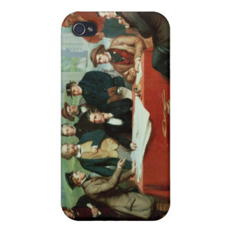 Conference of Engineers at Britannia Bridge Covers For iPhone 4