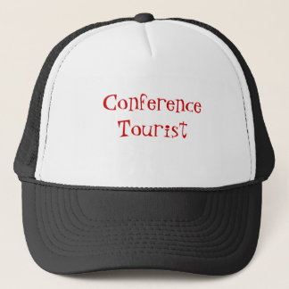 Conference Tourist Trucker Hat