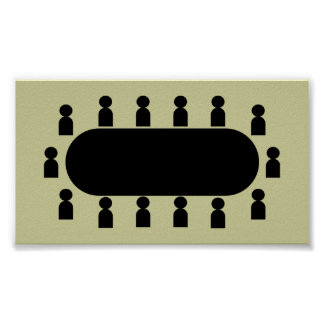 conference_Vector_Clipart Print